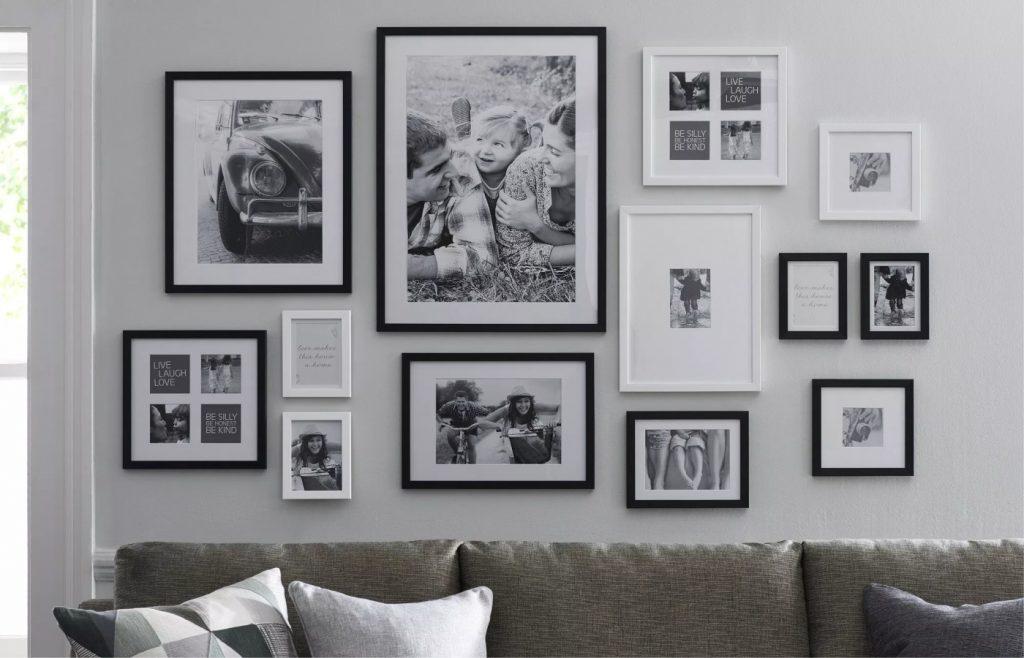 Tata letak foto keluarga sederhana minimalis dan indah, MP News, Makmur Property News