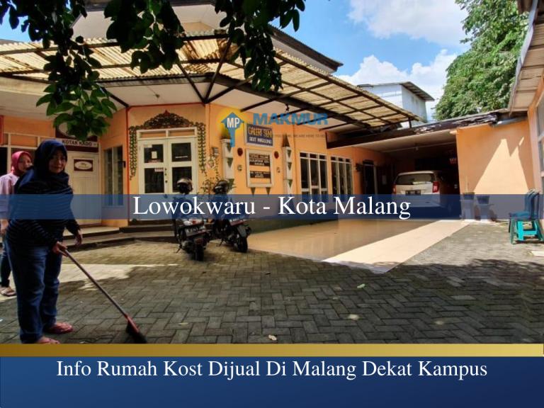 Info Rumah Kost Dijual di Malang Dekat Kampus, MP News, Makmur Property News