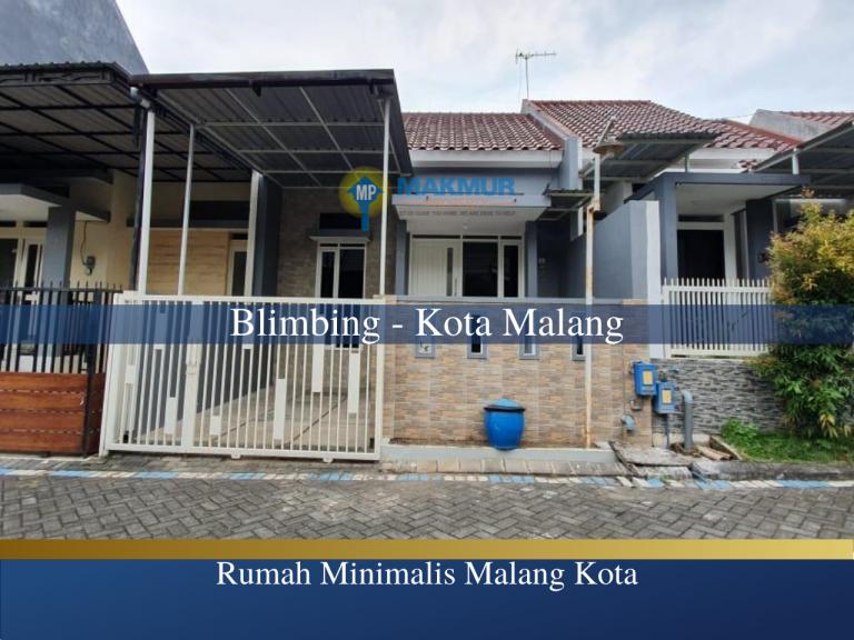 Rumah Minimalis Malang Kota, MP News, Makmur Property News