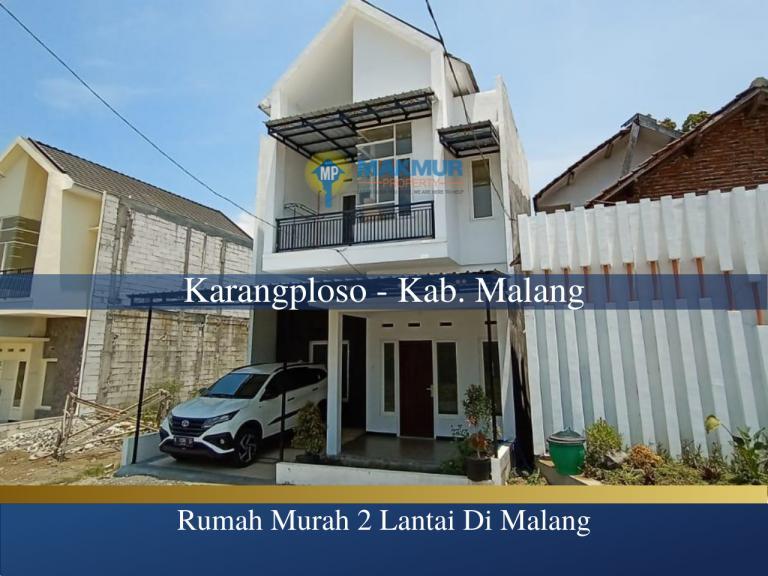 Rumah Murha Malang Wijaya Kusuma, MP News, Makmur Property News